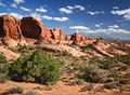 Garden of Eden - Arches Nationalpark - USA